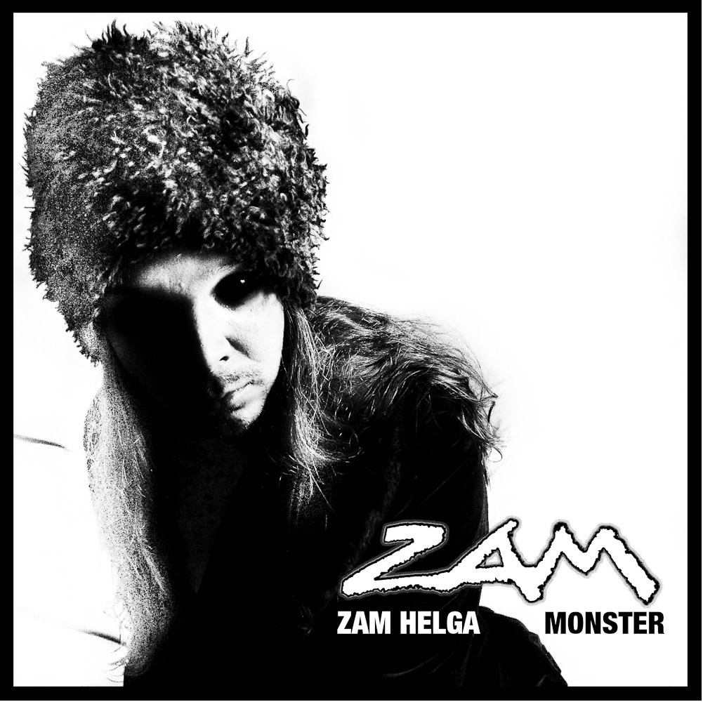 Zam Helga Monster CD und Booklet
