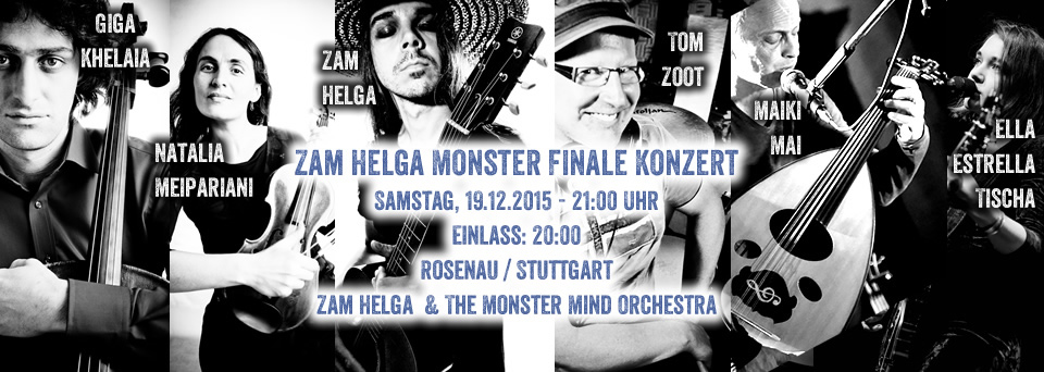 Zam Helga & The Monster Mind Orchestra Rosenau 2015