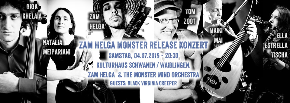 Zam Helga Monster Tour 2015